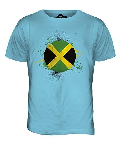 CandyMix Jamaika Fußball Herren T Shirt Himmelblau