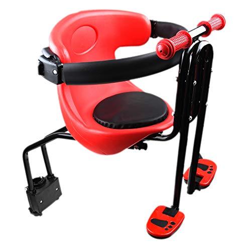 Sillines De Bicicleta para Niños, Bicicleta De Montaña / Vehículo Eléctrico, Asiento De Seguridad...