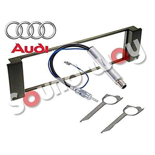 Kit de montaje marco para radio adaptador autorradio 1 DIN Audi A3...
