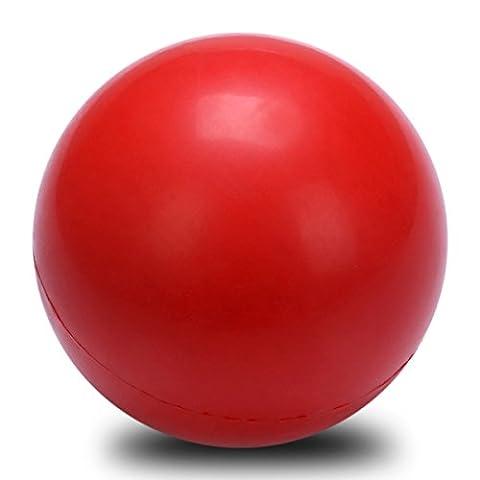 Kaisha pratiquement Indestructible solide en caoutchouc pour chien Balle rebondissante jouet pour chiot, robuste Safe récupérer jouet à mâcher Balle de tennis Taille 2.6en pour chien