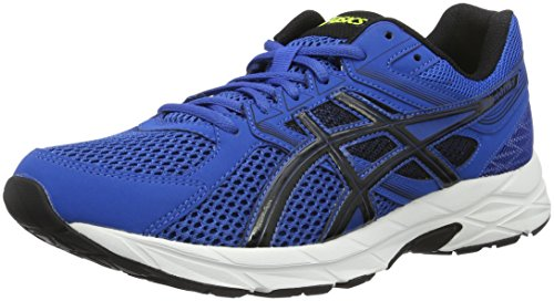 Asics Gel-Contend 3, Scarpe da Ginnastica Uomo, Blu (Imperial/Black/Safety Yellow), 42 1/2 EU