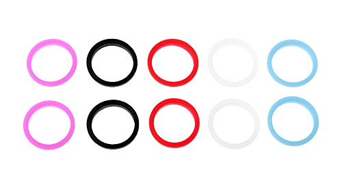 Authentic KangerTech Colorful Silicon Seal Ring Set for SUBTANK Nano (5-Set) , ships one of each color