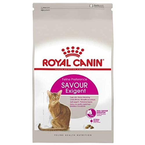 Royal Canin Cat Food Exigent Savour Sensation Dry Mix Hypoallergenic Sensitivity Control For Gastrointestinal Digestive So Cat Will Be Perfect...