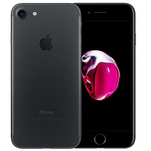 "Apple iPhone 7 Smartphone  4G (Display: 4,7"" - 128 GB - iOS 10) Nero (Nero opaco) [Italia]"