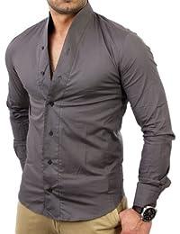 suchergebnis auf f r hemd ohne kragen bekleidung. Black Bedroom Furniture Sets. Home Design Ideas