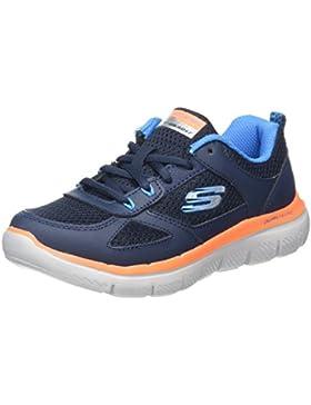 Skechers Flex Advantage 2.0, Zapatillas de Entrenamiento para Niños