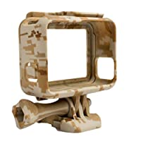Protective Housing Case for GoPro Hero 5 Outdoor Camouflage Standard Border Frame