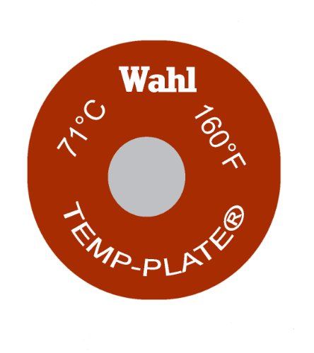 93 87 98 and 104 Degrees C Wahl Instruments 101-4-087C Mini Four-Position Temp-Plate Pack of 10