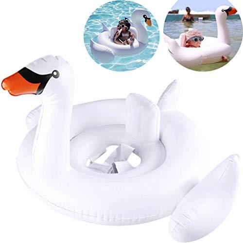 Pejoye Baby Aufblasbar Kinderschwimmring Schwimmbecken mit Sitz Kleinkind-Schwimmring PVC-Material für die Hautpflege für 6 Bis 36 Monate Kinder Kleinkindtraining Sicherheitshilfe