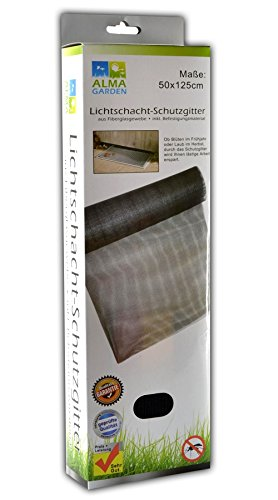 G&M Laub und Insektenschutz für Lichtschacht Kellerschachtabdeckung Schutzgitter (1)