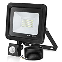 Nestling®10W/20W/30W/50W LED YELLOW RECHARGEABLE / PORTABLE FLOOD / WORK LIGHT IN COOL / DAY WHITE ** EASY TO USE FLOODLIGHT - IDEAL FOR CAMPING, WORKSHOPS, BOATS, ETC **