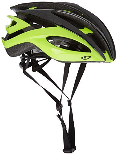 Giro Helm Atmos II, Matt Black/Highlight Yellow, L, 7054745