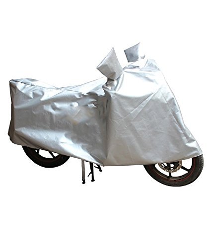 Gargi Traders Sporty Bike Body Cover for Royal Enfield Bullet 500 (Silver)