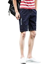 83d9d8a7aad8 Zhhlaixing Herren Cargo Bermuda Shorts Kurze Hosen Herren männer Sommer  Kurzehose Sporthose Mens Summer Shorts Beach