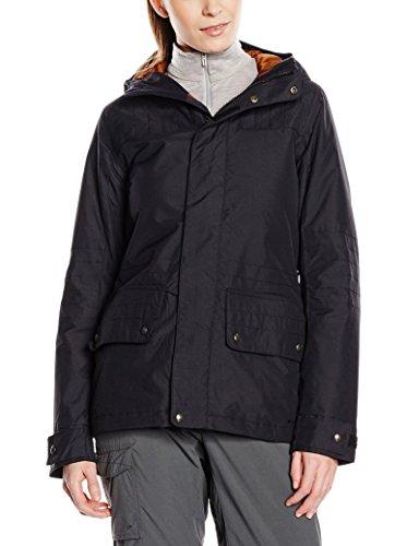Burton Damen Snowboardjacke W TWC Flyer Jacket True Black, L Burton White Collection