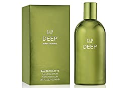 Gap Deep Eau De Toilette Spray for Men, 100ml