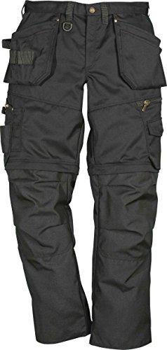 Fristads Bundhose PS25-242 abnehmbare Beine Zip-off, Farbe:schwarz;Größe:52