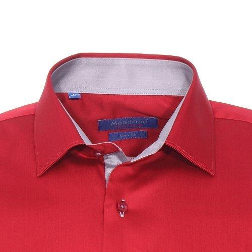 Méadrine - chemise Rouge