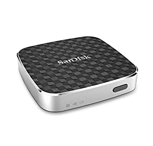SanDisk Connect Wireless Media Drive, 32 GB, Argento