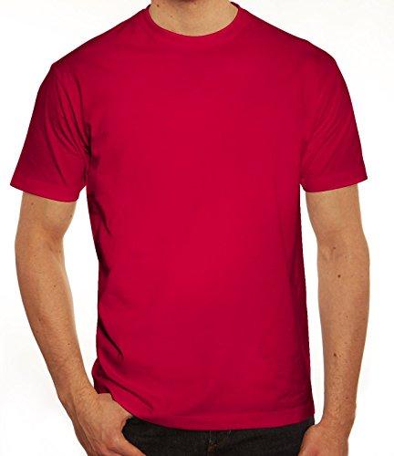 Valentinstag Hochzeit Paar Partner Valentine Herren T-Shirt mit Prince 01 hinten Motiv Sorbet