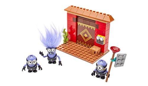 Mega Blocks Minions Ataque Fortaleza Mattel DKX77