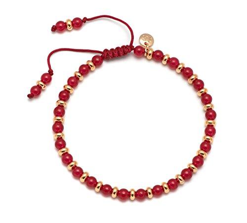 Lola Rose Armband Compton Crimson Rot -