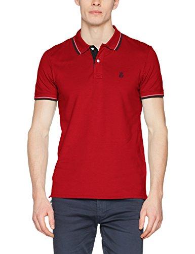 SELECTED HOMME Herren Poloshirt Rot (True Red True Red)