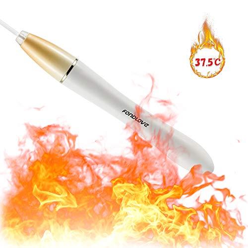 Fondlove USB Heizstäbe Flesh Heater Warmer Automatische Heizung 100% Wasserdicht für Fleshlight Masturbator oder Taschenmuschi