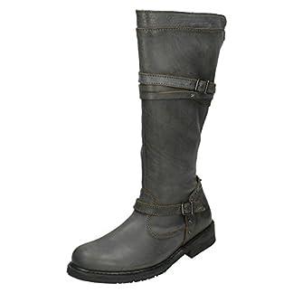 Harley Davidson Women's Boots Biker Boots Slate gray d83660 Cyndie 9