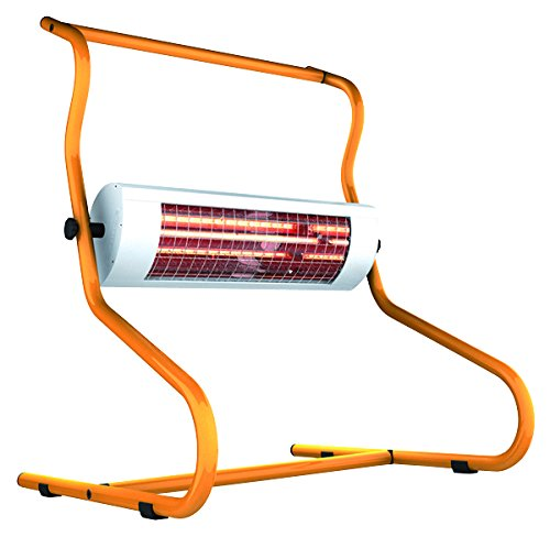 etherma Support appareil Solamagic, 1,4 kW, titane/orange, 9100304