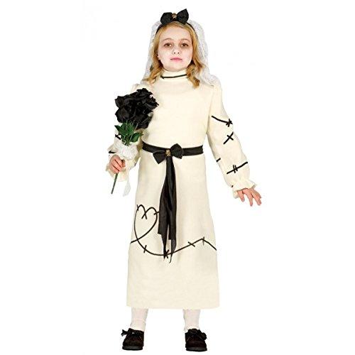 er Kostüm Gr. 98-134, Größe:110/116 (Frankensteins Braut Kostüm Kind)