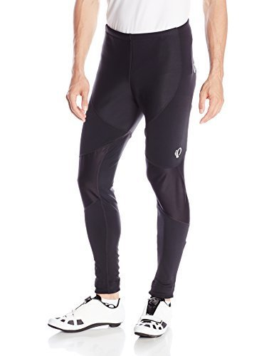 PEARL IZUMI - Ride Men 's Elite Thermal Barrier Tights, XX-Large, Black/Black by Ride Elite Thermal Barrier