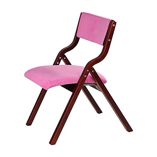 Holz Klappstühle Massivholz Klappstühle Continental Tuch Home Stühle Stühle Bürostühle Freizeit Stühle ( Farbe : 19# )