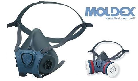 MOLDEX 7000 Series Half Mask Respirator / Dust & Gas Mask - 7003 / Large