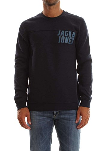 JACK&JONES 12122968 MARIO SWEAT SWEATER Harren Blu