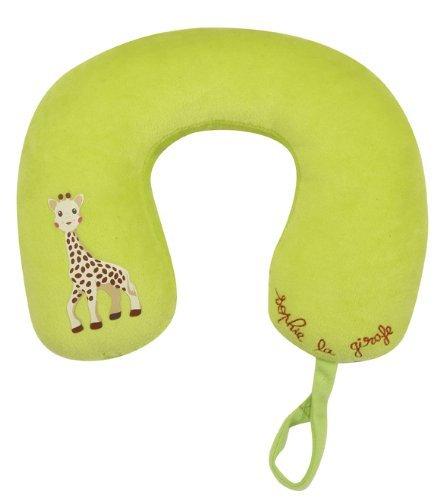 Vulli 470219 - Set de viaje de Sophie la jirafa (cojín para el cuello, parasol y protector de cinturón)