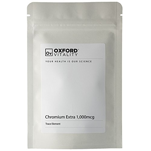 Oxford Vitality - Comprimés Picolinate de Chrome 1000mcg