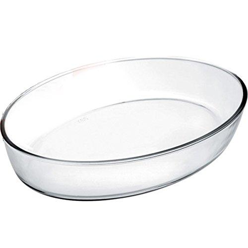 IBILI 480135 - Fuente Horno Oval Kristall 35X25X6