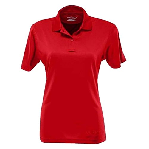 Tru-spec pour femme Performance 24–7Polyester à manches courtes Polo Range Red