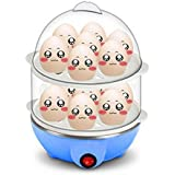 divinext 2 Layer Egg Boiler Cooker and Steamer With Steel Bowl
