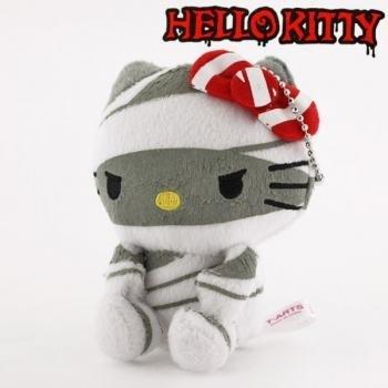 Sanrio Hello Kitty Monster Collection Plush Doll Ball Chain (Mummy)