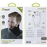 Muvit MUHTG0011 Talking Touch Glove Kits Oreillette Bluetooth