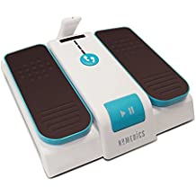 HoMedics Leg Exerciser - Improve Circulation, Reduce Joint Discomfort, Swelling, Aching, Tiredness in Legs, 3 Speeds, 3 Stride Lengths, Easy Remote Control, Carry Design, Simple Storage, 2yr Guarantee
