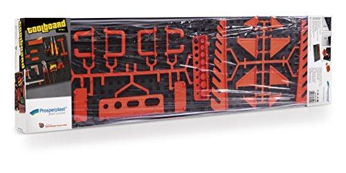 Terra NTB1 Werkzeugwand, Plastik, mehrfarbig, 80 x 8 cm