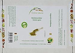 Aroma natural Bockshornklee Samen ganz 500 g, 1er Pack (1 x 500 g)