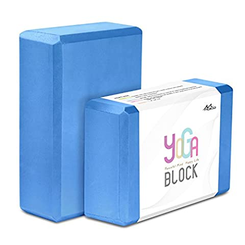 MoKo Yoga Blocks 2 Pack, 9