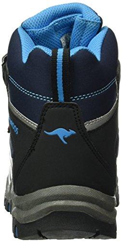 KangaROOS Mitchu, Bottes courtes  mixte enfant Bleu - Blau (Dk Navy/Blue 442)