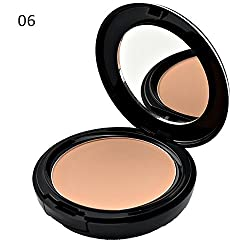 GlamGals Three Way Cake Brown Compact,SPF 15,12g
