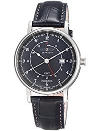 Zeppelin Watches Herren-Armbanduhr XL Analog Quarz Leder 7546-3