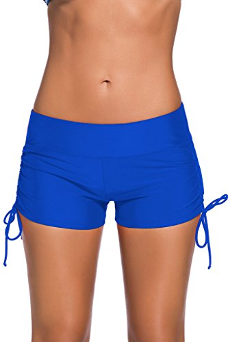 Chase Secret -  Pantaloncini  - Donna blu (Solid Bikini Panty)